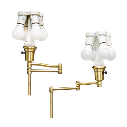Brass Reading Lamp Swing Arm