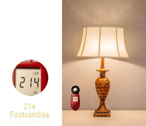 Table Lamp with moreLamplight